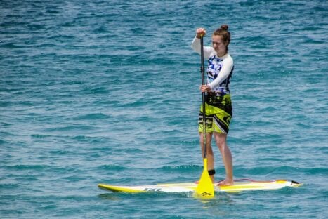 """Stand Up Paddling am Walensee """"Mädchentag"""" (11 – 13 Jahre)"""